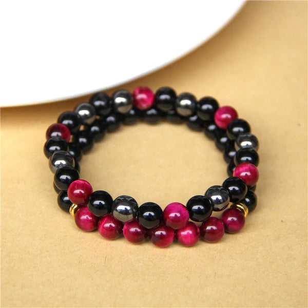 Triple protection bracelet - 2 pieces set