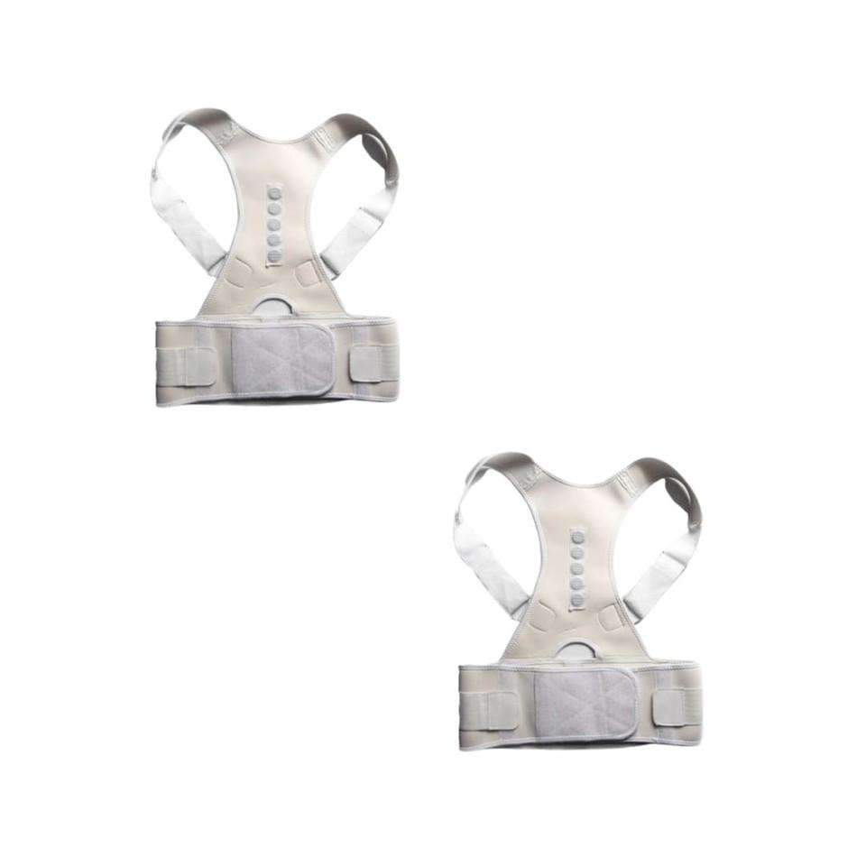 ORTHO BRACE SUPPORT (WHITE-S 2 ITEMS)