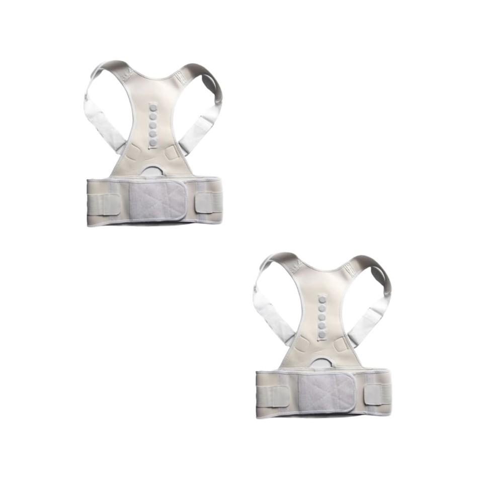 ORTHO BRACE SUPPORT (WHITE-XXL 2 ITEMS)