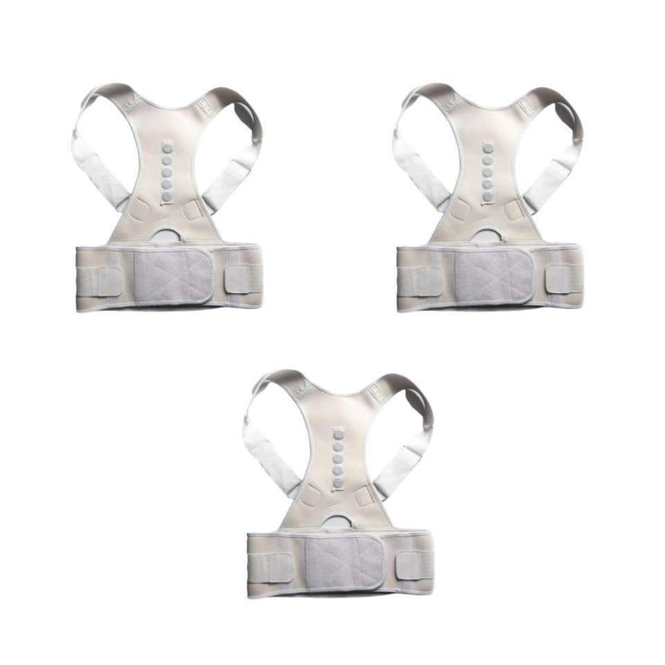ORTHO BRACE SUPPORT (WHITE-S 3 ITEMS)