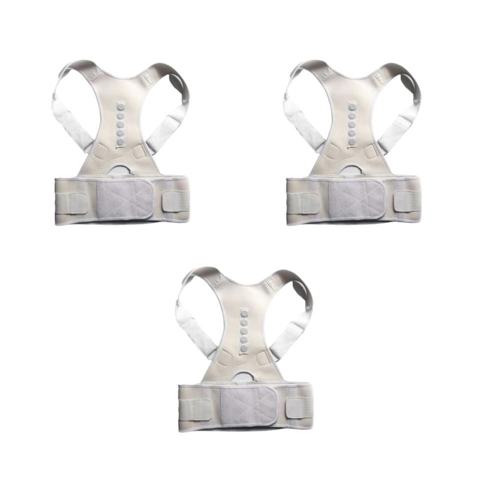 ORTHO BRACE SUPPORT (WHITE-M 3 ITEMS)