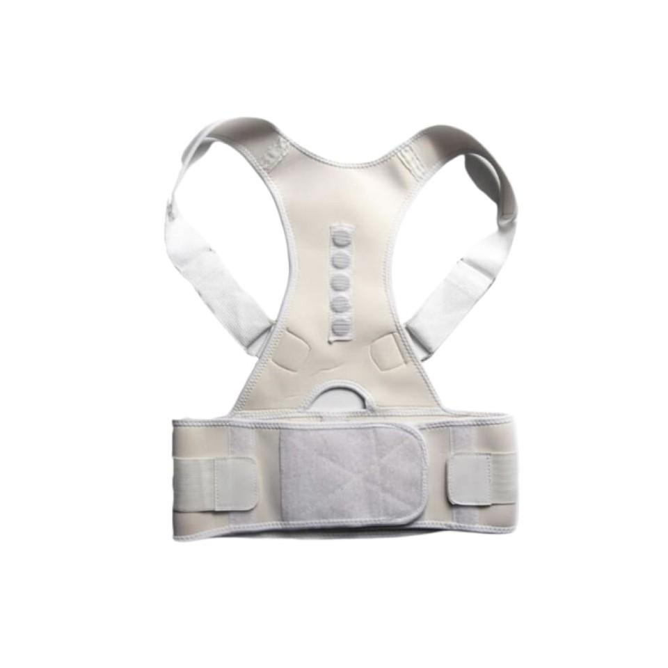 ORTHO BRACE SUPPORT (WHITE-XXL 1 ITEM)