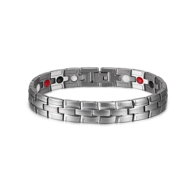 Therapeutic Magnetic Bracelet (Silver) - Follow Up Sale