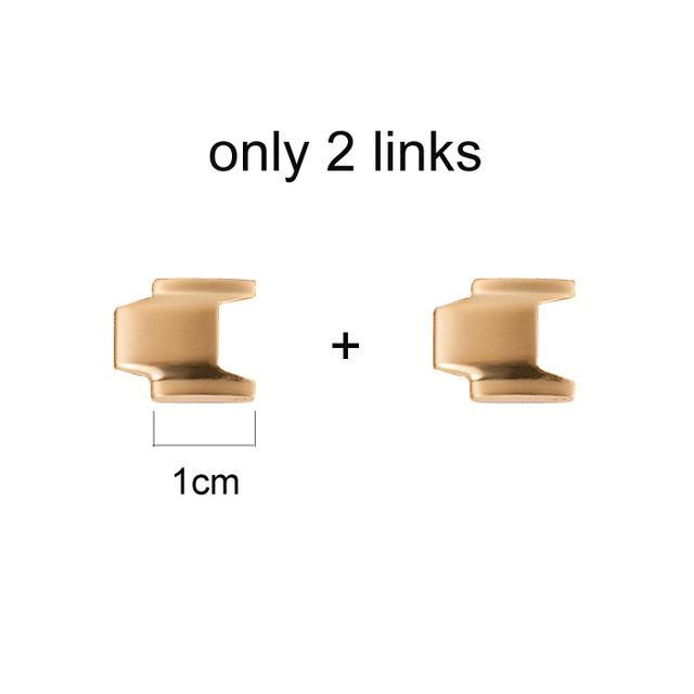 2 Extra Links for Simple Linkage Bracelets