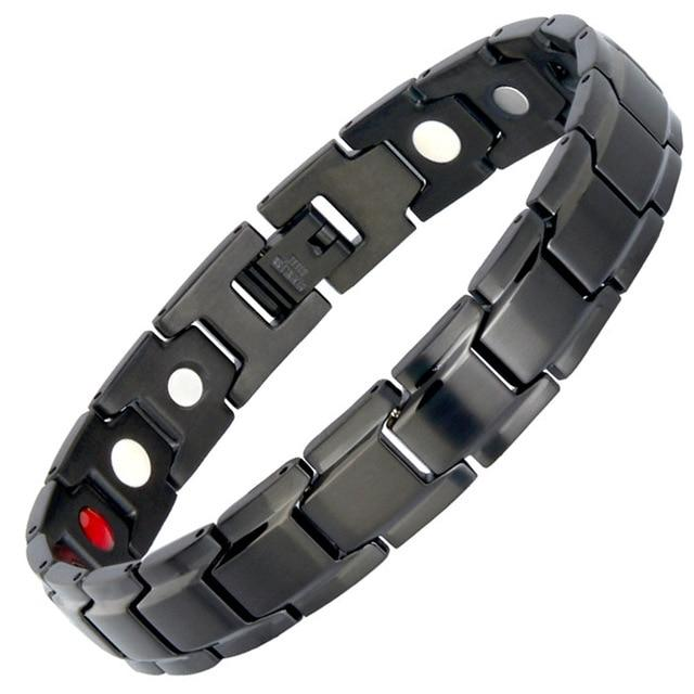 MAGNETIC BLACK BRACELET