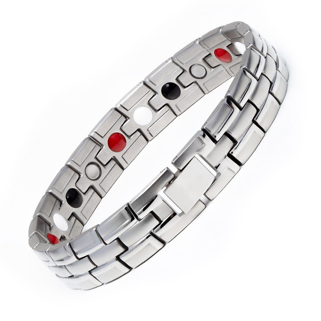 Silver Magnetic Bracelet (with discount 3 items)