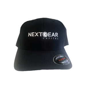 FLEXFIT BRUSHED 6-PANEL CAP WITH SILVER UNDERBILL