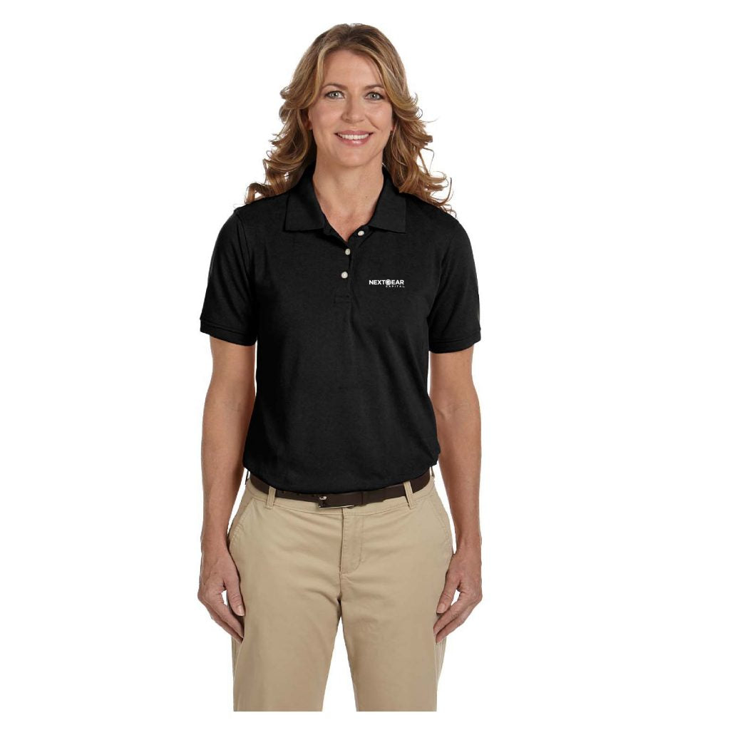 NEXTGEAR CAPITAL HARRITON LADIES' 5.6 OZ. EASY BLEND POLO