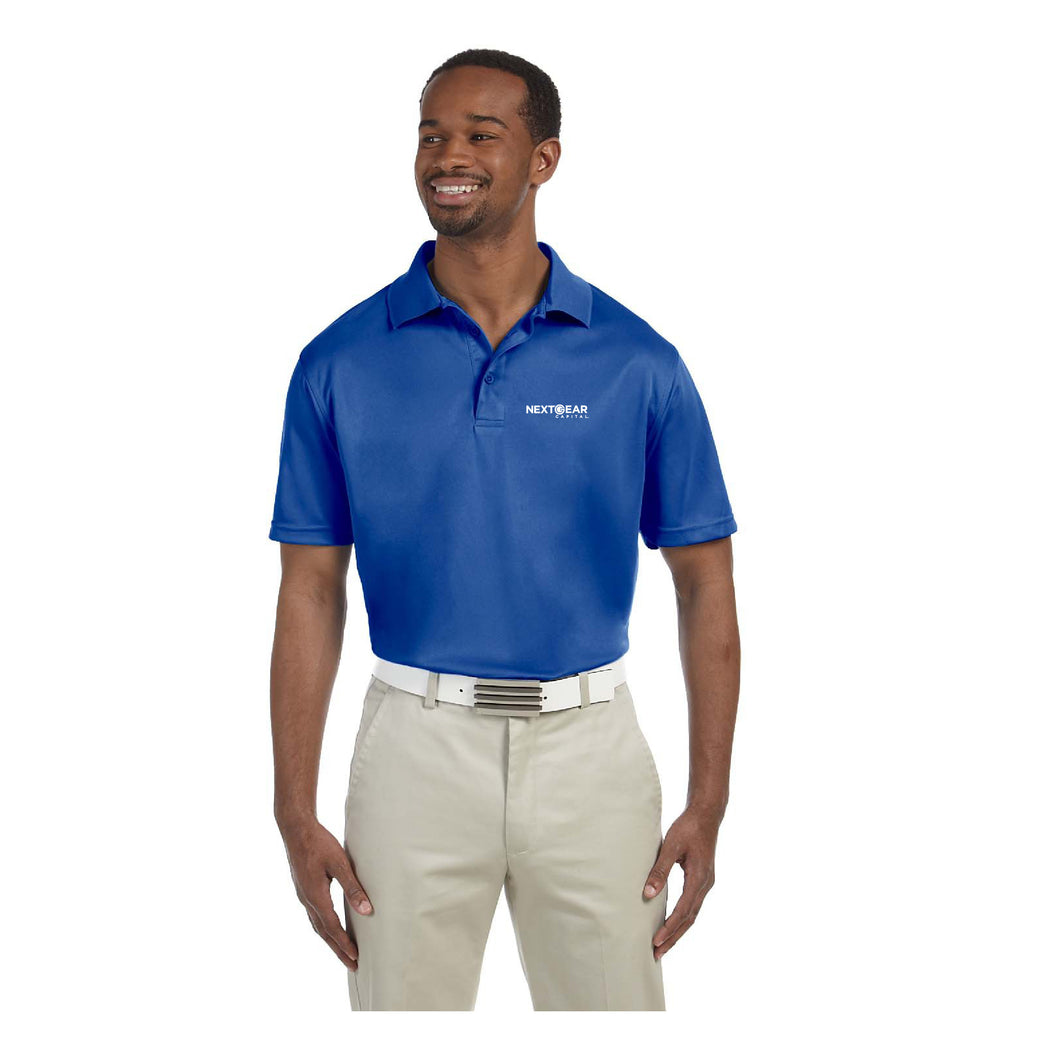 NEXTGEAR CAPITAL HARRITON MEN'S 4 OZ. POLYTECH POLO