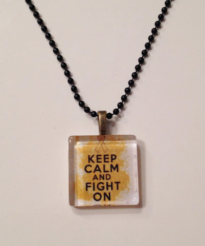 The KEEP CALM Necklace