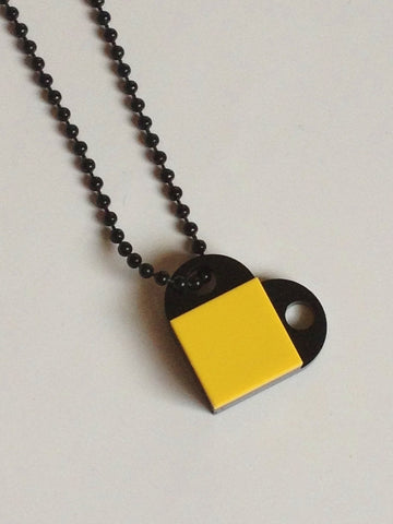 The LEGO Heart Necklace