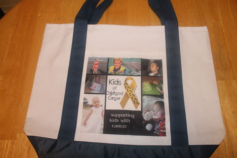 NEW! Photo Collage Tote Bag