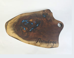 Charcuterie Board - Epoxy Resin Design 4