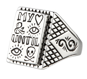 My Heart And Eye Until I Die ~ Ring