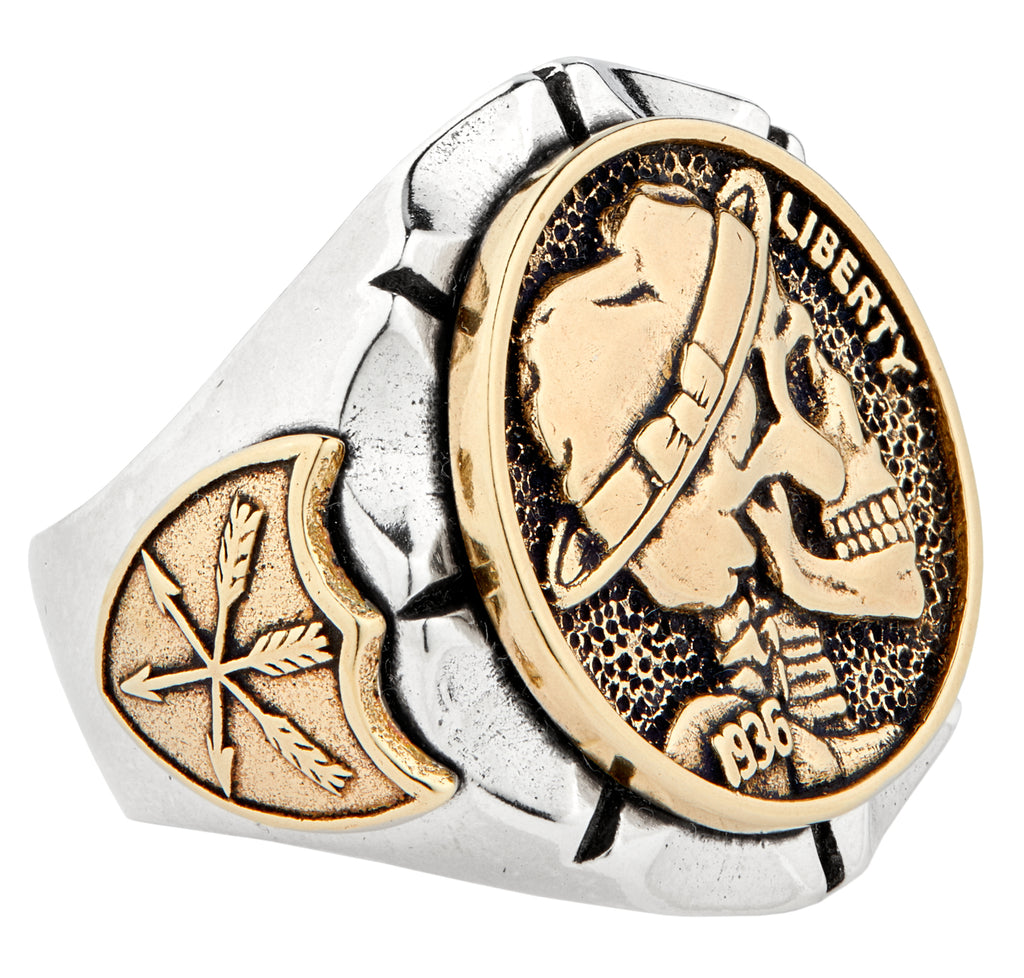 Hobo Nickel Souvenir Ring