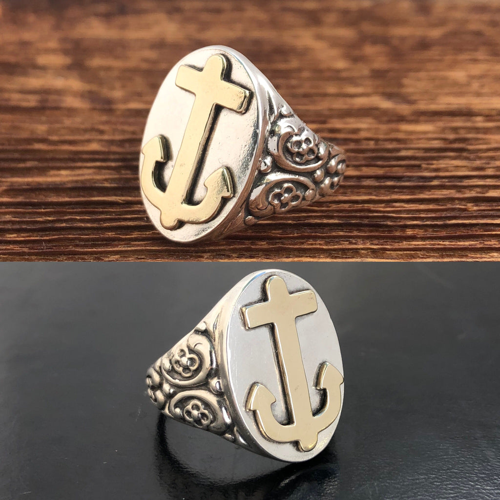 Ornate Anchor Ring