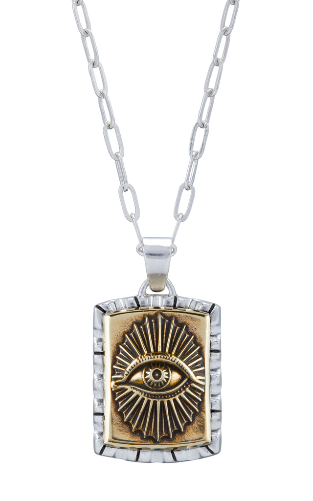All Seeing Eye Souvenir Necklace