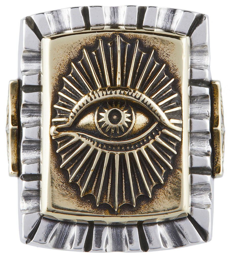 All Seeing Eye Souvenir Ring