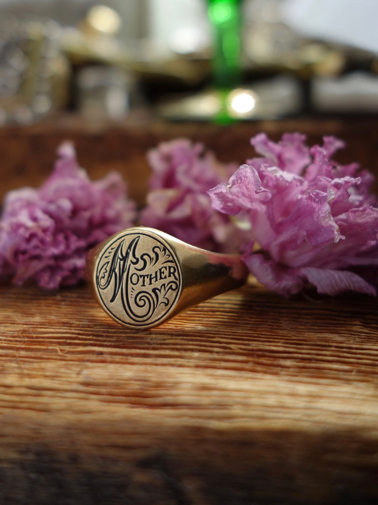 Mother Signet Ring
