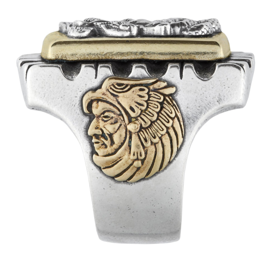 Eagle & Snake Souvenir Ring