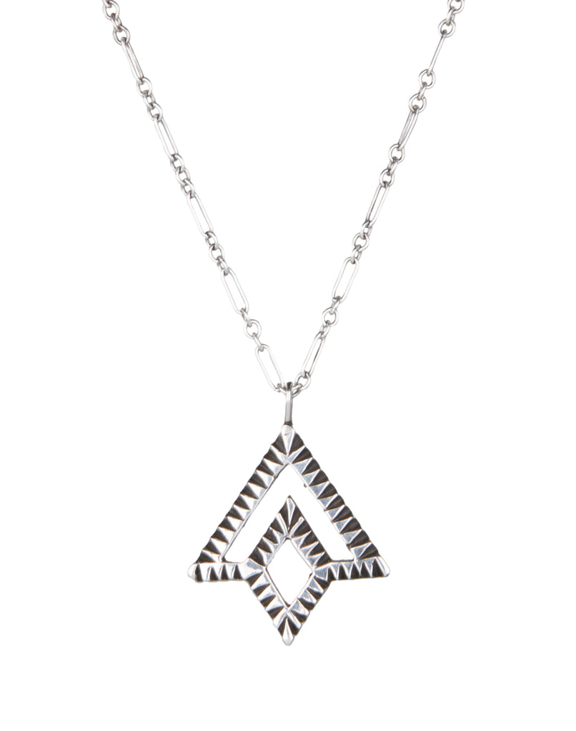 Badari Triangle Necklace