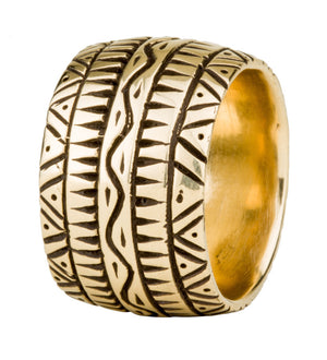 Dendera Band Ring