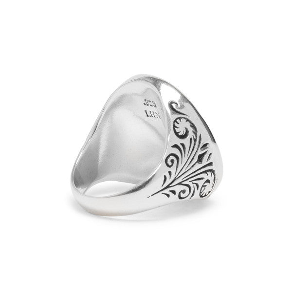 Mermaid Signet Ring