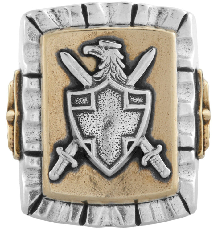LHN Jewelry Coat of Arms Souvenir Ring