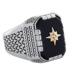 Compass Aztec Ring