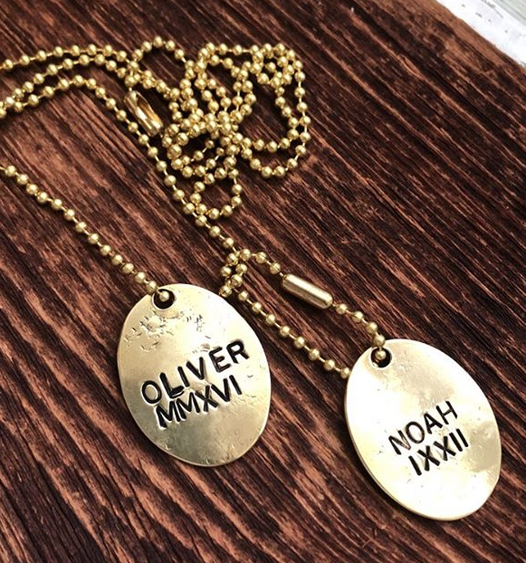 Dog Tags - Custom Stamped