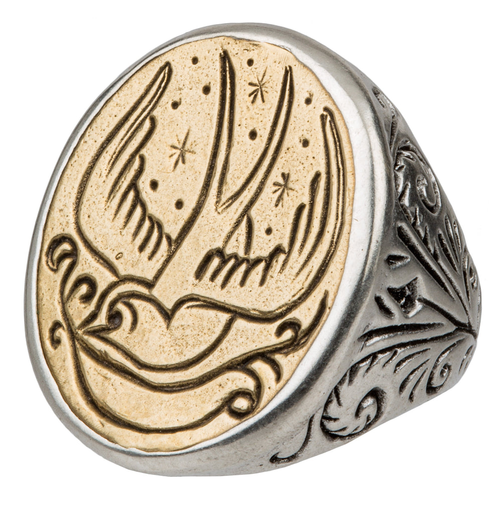 no rings browns signet ring alexander shopping mcqueen
