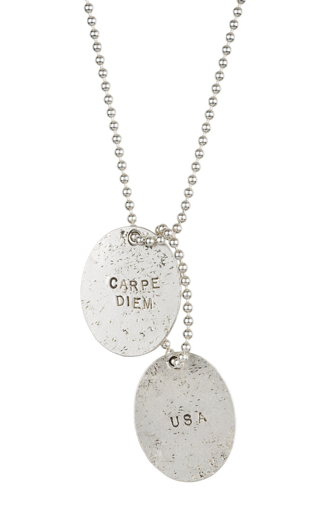 Carpe Diem Dog Tags