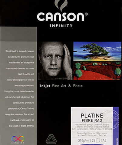 Canson Infinity Platine Fibre Rag 310 g
