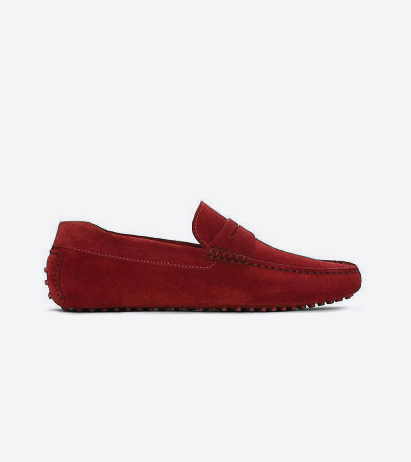 red-suede