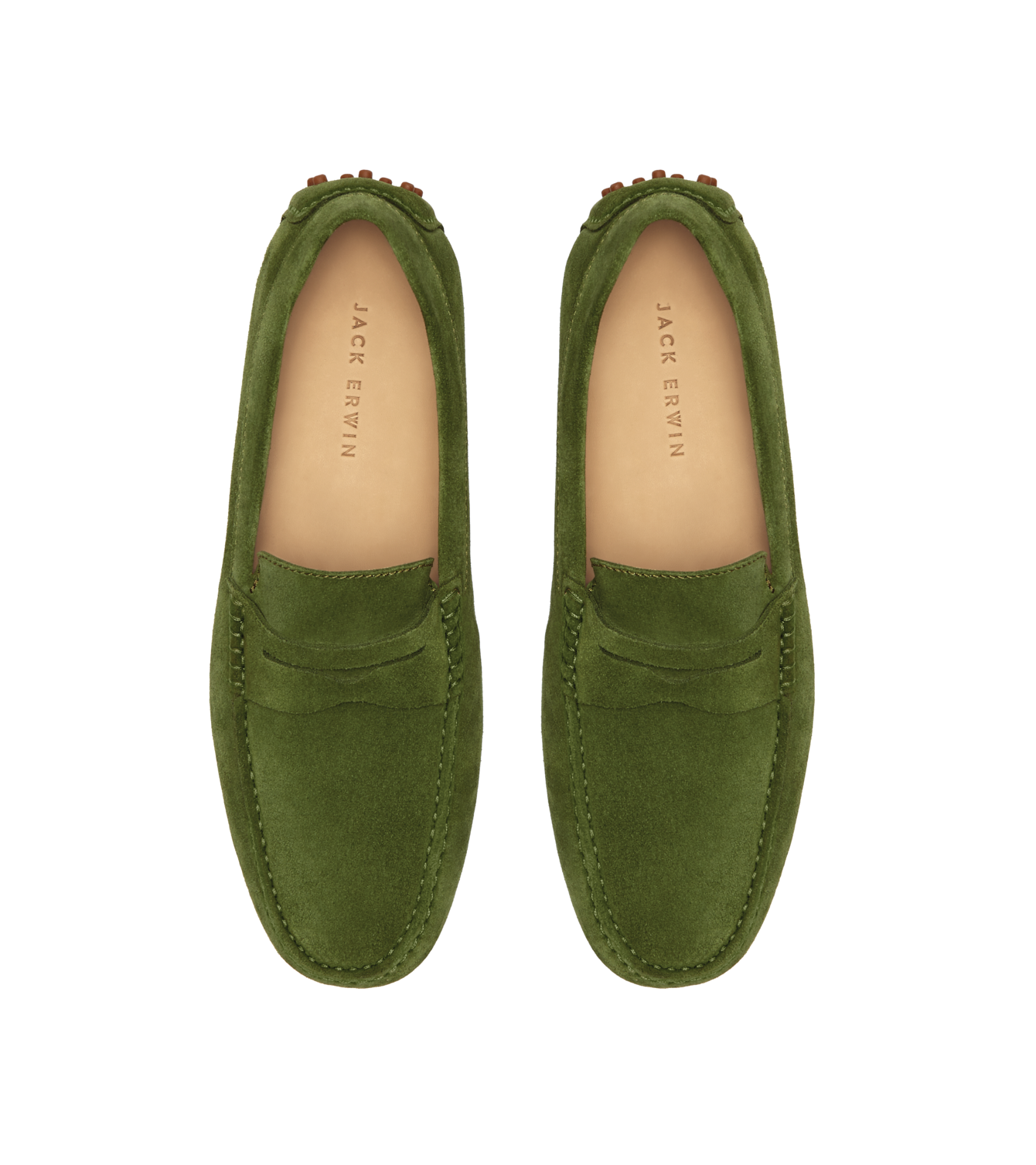 green-suede