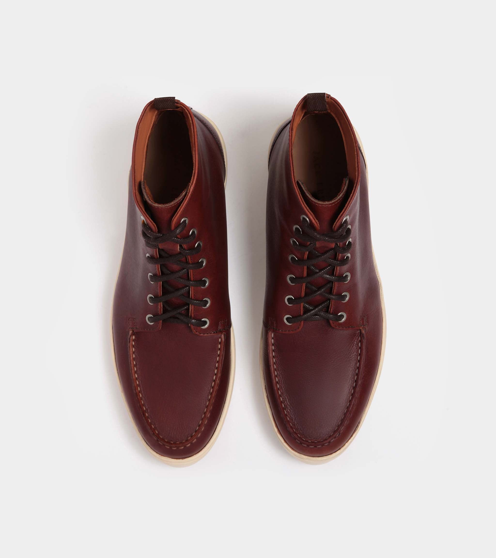 burgundy-full-grain