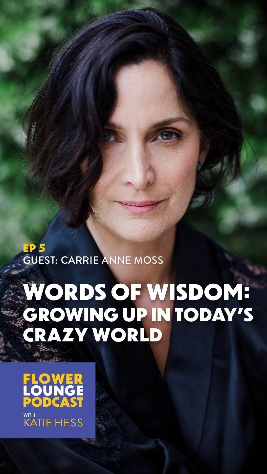 carrie anne moss podcast
