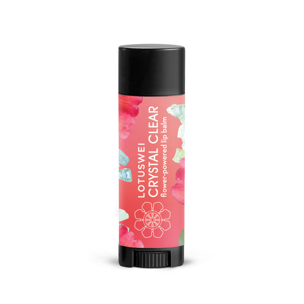 lotuswei flower essence crystal clear lip balm