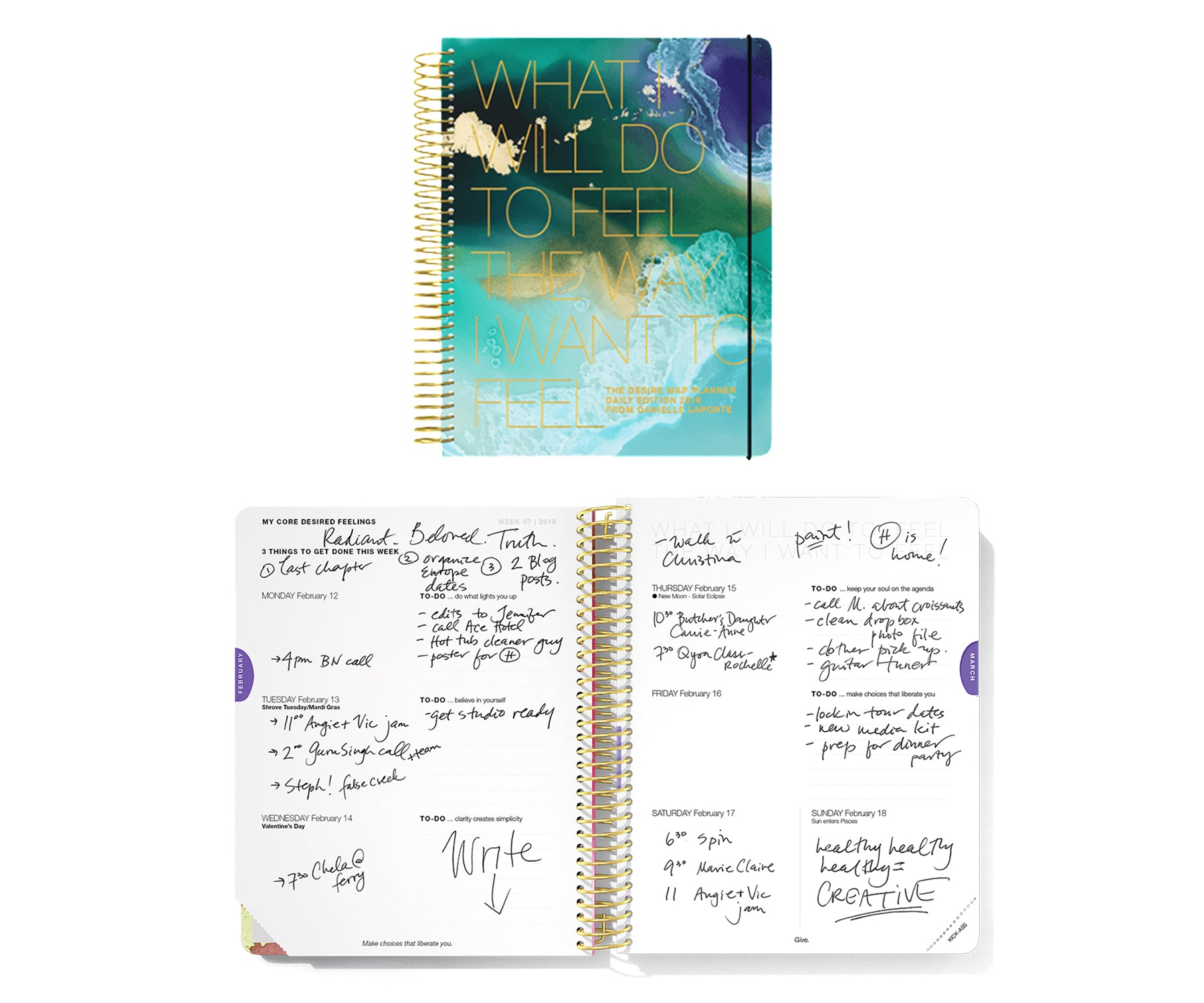 desire map planner LOTUSWEI flower essences