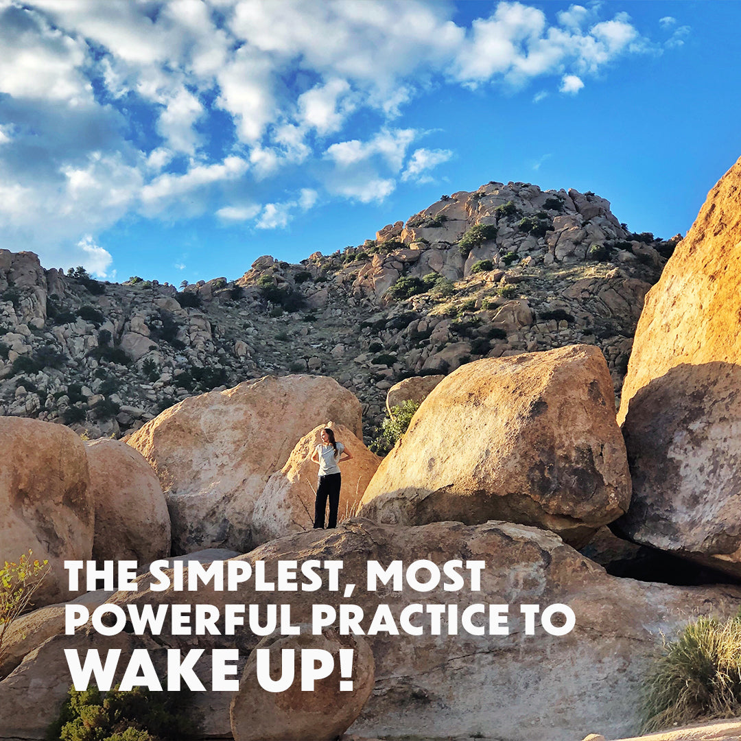 The Simplest, Most Powerful Practice To Wake Up!