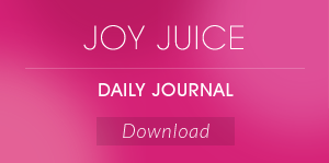 Joy Juice Daily Journal