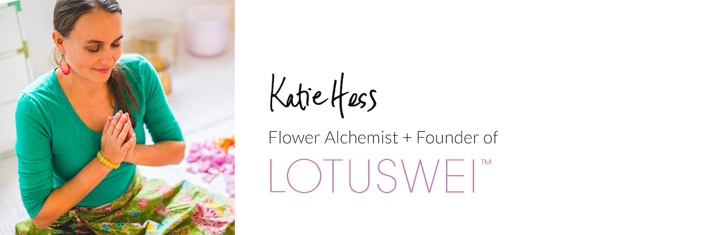 Katie Hess signature LOTUSWEI flower essences