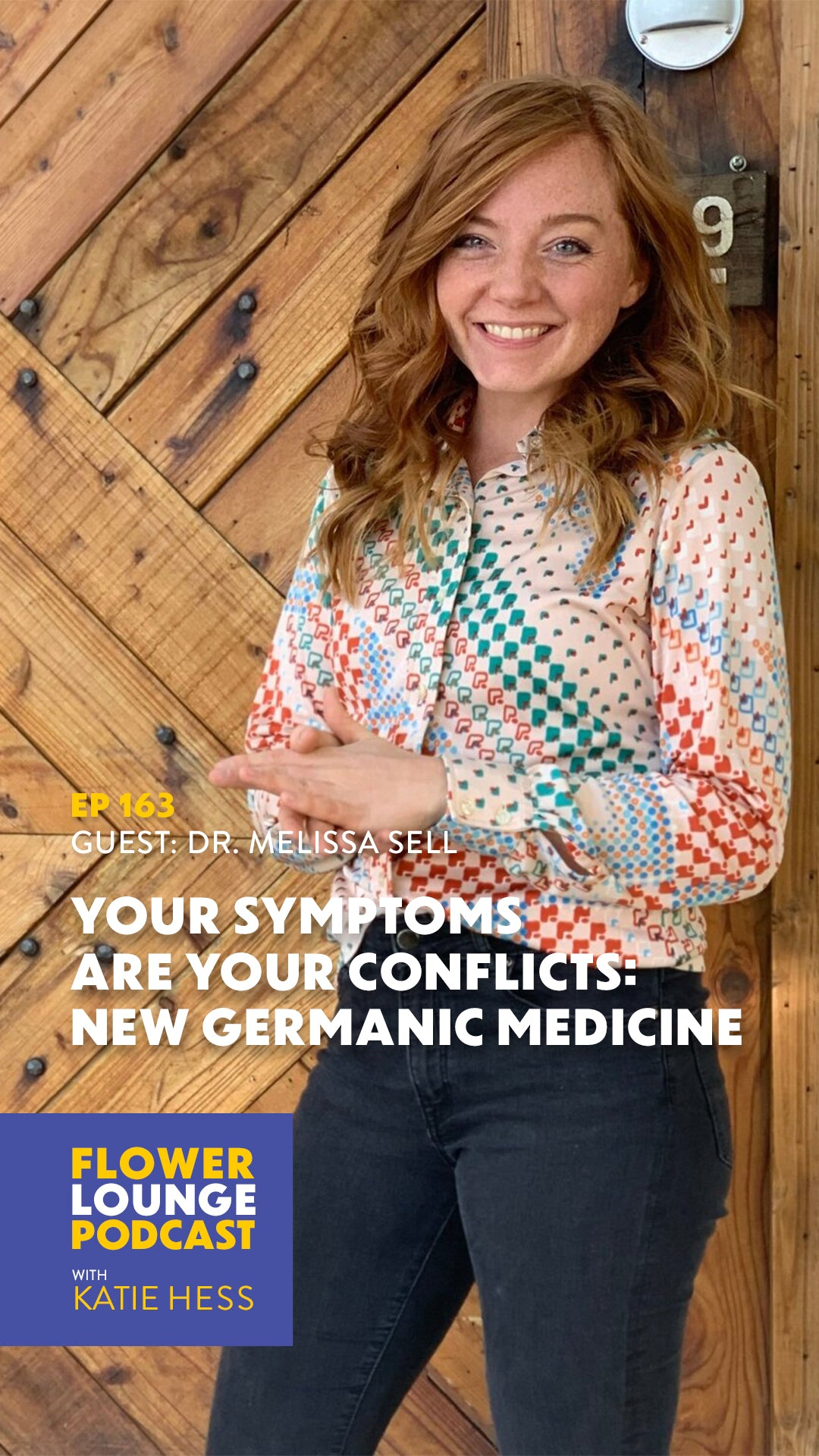 Germanic New Medicine with Melissa Sell on the Flowerlounge Podcast with Katie Hess