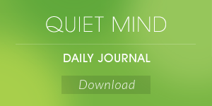 Quiet Mind Daily Journal