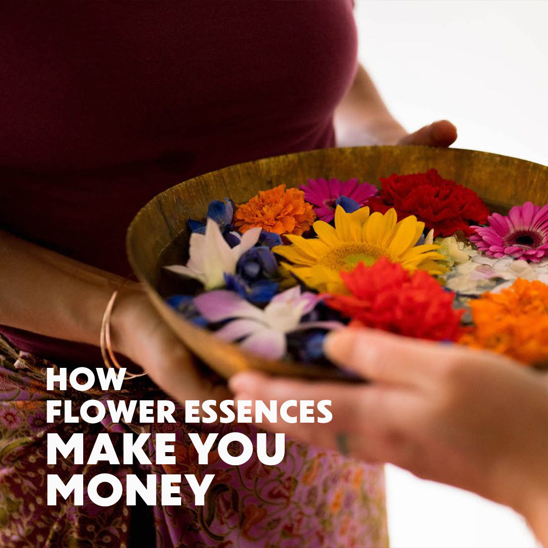 How Flower Essences Make You Money