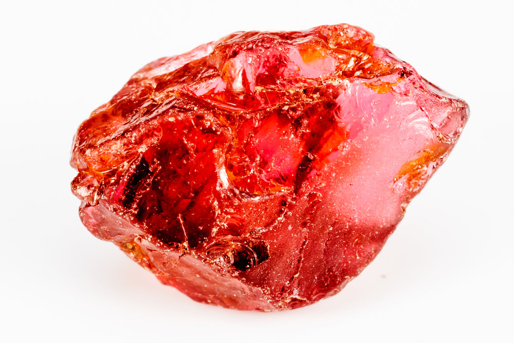 raw garnet LOTUSWEI gem essence
