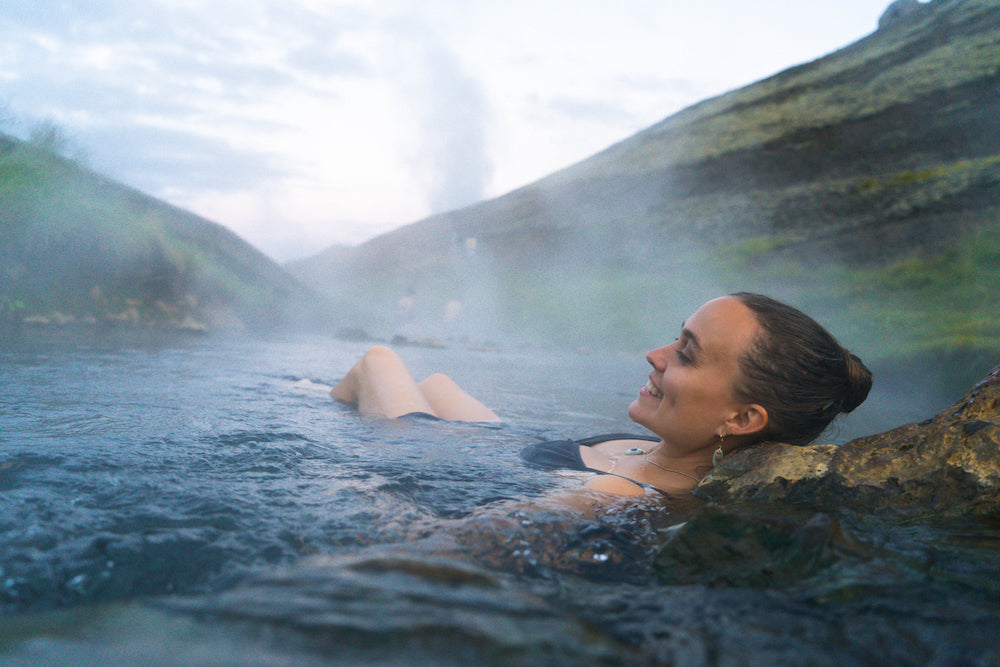 Iceland hot springs Katie Hess LOTUSWEI flower essences