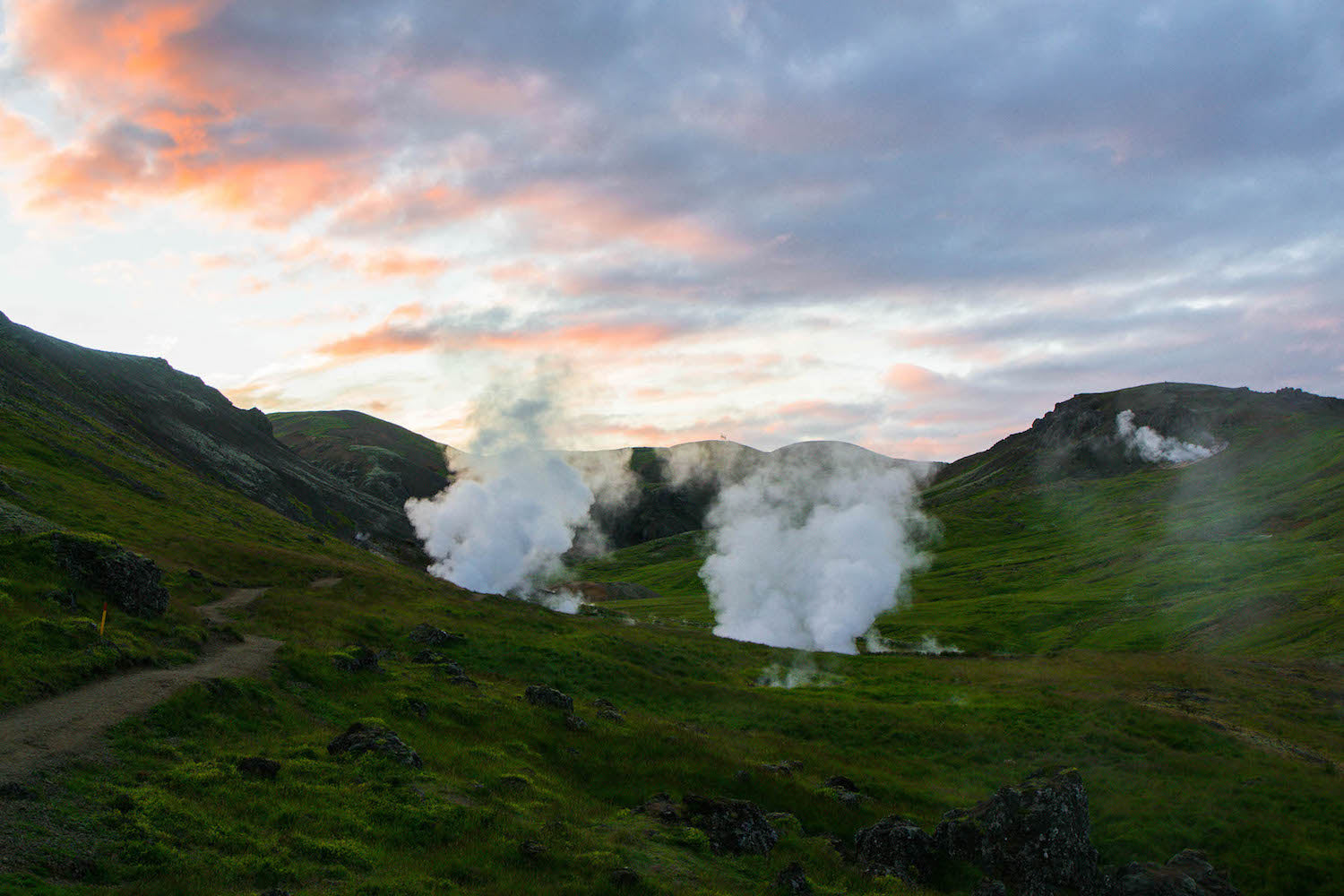 Iceland Steam Vents LOTUSWEI flower essences