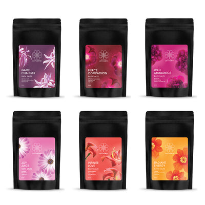 embody flower essence bathing rituals LOTUSWEI