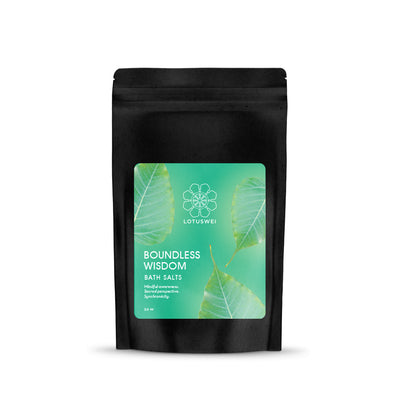 boundless wisdom flower essence bath salt LOTUSWEI